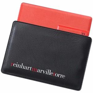 נרתיק דמוי עור לדיסק און קי כרטיס אשראי