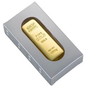 מטיל זהב - זיכרון נייד 64GB מתכת מבריקה