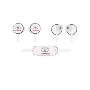 אוזניות בלוטוס ממותגות TWS עם רצועת צוואר